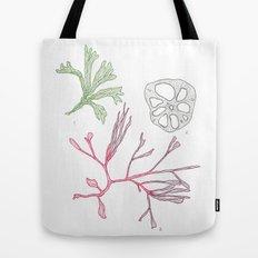 Seaweed and Lotus Root Tote Bag