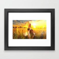 Meadow's Edge XIV Framed Art Print
