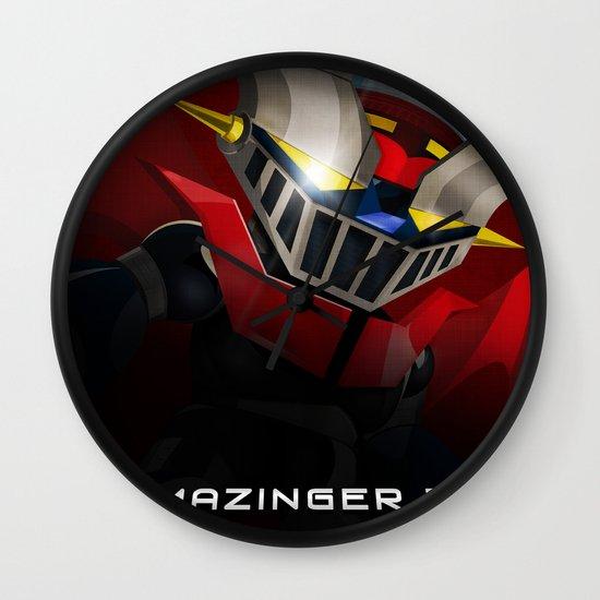 mazinger fan art Wall Clock