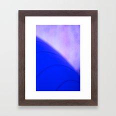 blue planet Framed Art Print