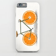 Zest (Orange Wheels) iPhone 6 Slim Case