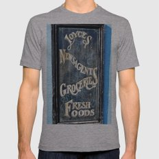 One Stop Shop Mens Fitted Tee Athletic Grey SMALL