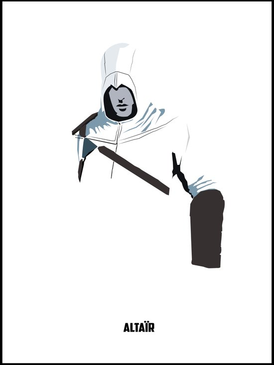Assassins Creed - Altair Art Print