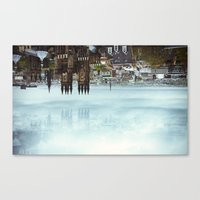 Edinburgh inverted Canvas Print
