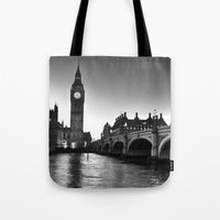 Westminster London Tote Bag