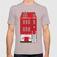 Red House Mens Fitted Tee Cinder SMALL