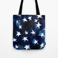 Tote Bag featuring Galaxy by Julia Hendrickson