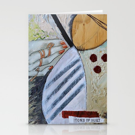 Icons of Hurt Stationery Card