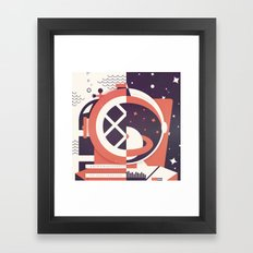 Astronautical: The Final Frontiers Framed Art Print