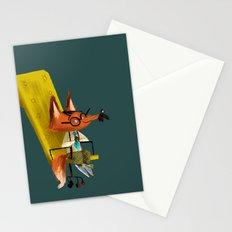 Fox Boss Stationery Cards