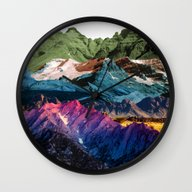Dream Nature MOUNTAINS Wall Clock