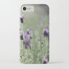 lavender in summer light Slim Case iPhone 7