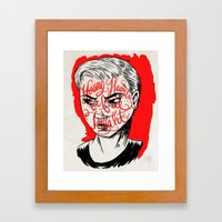Young Turks Framed Art Print
