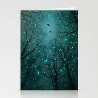 Silently, One By One, Th… Stationery Cards