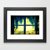 Life On The Other Side Framed Art Print