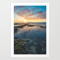Big Island Sunset Art Print