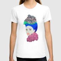 japan T-shirts featuring Japan by Luna Portnoi