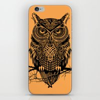 Warrior Owl 2 iPhone & iPod Skin