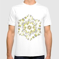 8.5 Million Stories Mens Fitted Tee White SMALL