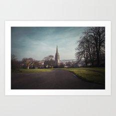 Brook Park, Derry-Londonderry Art Print