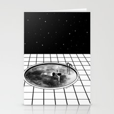 Pool Moon Stationery Cards