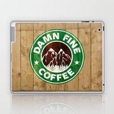 Damn Fine Coffee Laptop & iPad Skin