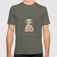 Long Live The Dead - Owl Mens Fitted Tee Lieutenant SMALL