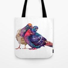 Pigeons Tote Bag