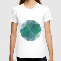 Shapes 011 Womens Fitted Tee White SMALL
