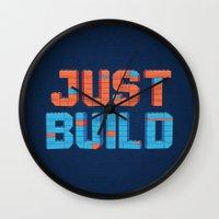 Just Build Wall Clock