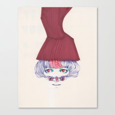 Owl lady wannabe Canvas Print