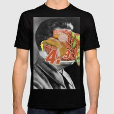Meat historical assholes 3 SMALL Mens Fitted Tee Black