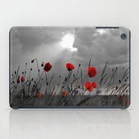 Only poppies... iPad Case