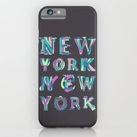 nyc iPhone & iPod Cases featuring NYC by Fimbis