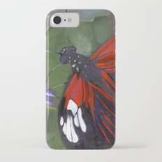 Red and Black Butterfly Slim Case iPhone 7