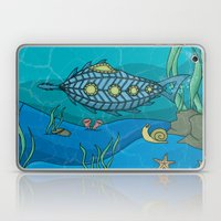Nautilus under the sea Laptop & iPad Skin