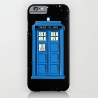 iPhone & iPod Case featuring TARDIS in Space by Colin Capurso
