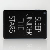 Sleep Under The Stars iPad Case