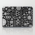 Modern Elements with Black. iPad Case