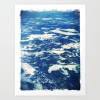Ottawa Winter from The Air Art Print