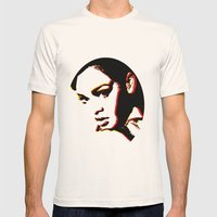 RIHANNA III Mens Fitted Tee Natural SMALL