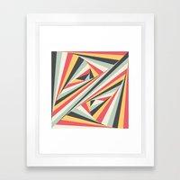 Twiangle Framed Art Print