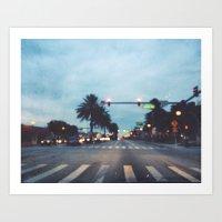 Lucerne Avenue Art Print