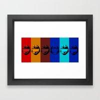 Red vs. Blue Team - Halo Framed Art Print