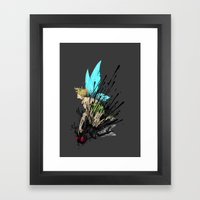 Dont Mess With Her! Framed Art Print