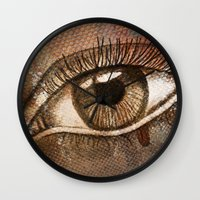 Refracted Canvas Wall Clock