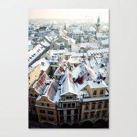 Praha Horizons Canvas Print