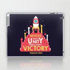 Unity is victory Laptop & iPad Skin