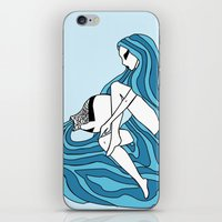 Aquarius / 12 Signs Of T… iPhone & iPod Skin