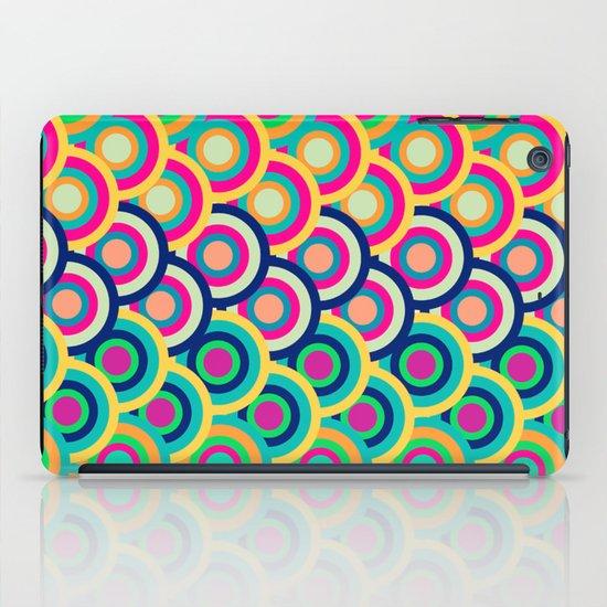 Circle colors iPad Case